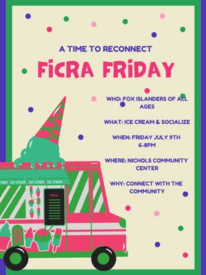 FICRA Friday Ice Cream Social